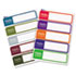 "AVE5153 - ""Hello"" Flexible Self-Adhesive Name Badge Labels, 1 x 3-3/4, Bright Asst, 100/Pk"