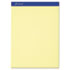 ESS20270 - Writing Pad, Legal/Wide Rule, Letter, Canary, 50-Sheets, Perfed, Dozen