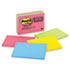 MMM6445SSP - Super Sticky Large Format Notes, 6 x 4, Electric Glow, 8 45-Sheet pads/Pack