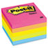 MMM6545PK - Original Pads in Neon Colors, 3 x 3, Five Neon Colors, 5 100 Sheet Pads/Pack