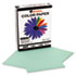 UNV11203 - Colored Paper, 20lb, 8-1/2 x 11, Green, 500 Sheets/Ream