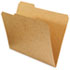UNV16133 - Kraft File Folders, 1/3 Cut Assorted, Top Tab, Letter, Brown, 100/Box