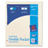 AVE03075 - Untabbed Double Pocket Manila Dividers, 11 x 9, 5/Pack