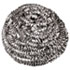Stainless Steel Scrubbers, Medium Size, 72/Carton