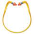 QB2HYG Banded Multi-Use Earplugs, 25NRR, Orange Band/Orange Plug,10EA/BX,10BX/CT