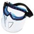 V90 Series Face Shield, Blue Frame, Clear Lens