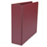 "UNV20797 - D-Ring Binder, 3"" Capacity, 8-1/2 x 11, Burgundy"