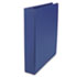 "UNV20775 - D-Ring Binder, 1-1/2"" Capacity, 8-1/2 x 11, Royal Blue"