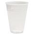 Translucent Plastic Cold Cups, 7oz, Polypropylene, 100/Pack