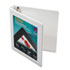 "AVE68056 - Framed View Binder With One Touch Locking EZD Rings, 1"" Capacity, White"