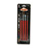 DIX94005 - Hobby Five-Brush Set, Assorted Sizes, Natural Hair, Flat; Round, 5/Set