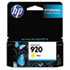 HEWCH636AN140 - CH636AN (HP-920) Ink Cartridge, 300 Page-Yield, Yellow