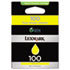 LEX14N0902 - 14N0902 (100) Ink, 200 Page-Yield, Yellow
