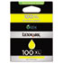 LEX14N1071 - 14N1071 (100XL) High-Yield Ink, 600 Page-Yield, Yellow