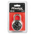 "MLK1500D - Combination Lock, Stainless Steel, 1-7/8"" Wide, Black Dial"