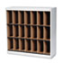 MLNSRF3837PG - Kwik-File Vertipocket Vertical Sorter, 21 Pockets, 37¾w x 12¾d x 37h, Pebble Gry