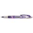 PAP21005BH - Liquid Flair Porous Point Stick Pen, Purple Ink, Medium, Dozen