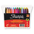 SAN75846 - Permanent Markers, Fine Point, Assorted, 24/Set