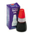 Refill Ink for Xstamper Stamps, 10ml-Bottle, Red