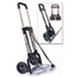 STB390009CHR - Portable Slide-Flat Cart, 275lbs, 18 3/4 x 19 x 40, Black/Chrome