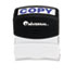 UNV10047 - Message Stamp, COPY, Pre-Inked/Re-Inkable, Blue