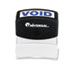 UNV10071 - Message Stamp, VOID, Pre-Inked/Re-Inkable, Blue