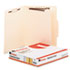 UNV10300 - Manila Classification Folders, Letter, Six-Section, 15/Box