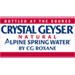 Crystal Geyser logo