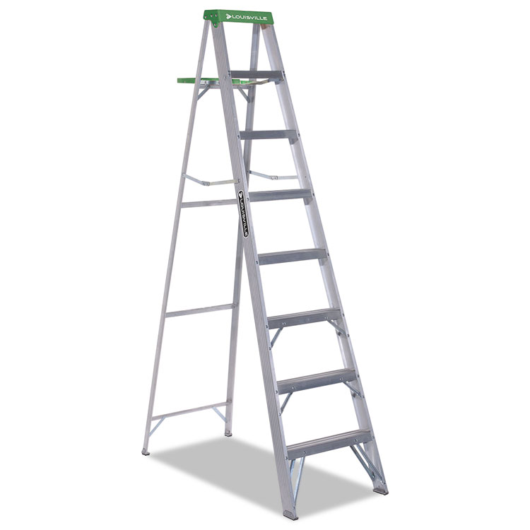 428 Folding Aluminum Step Ladder By Louisville 174 Dadas4008