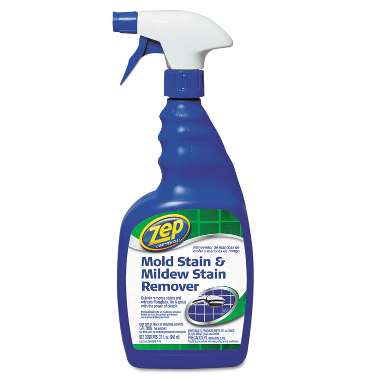 Mold Stain And Mildew Stain Remover By Zep 174 Commercial