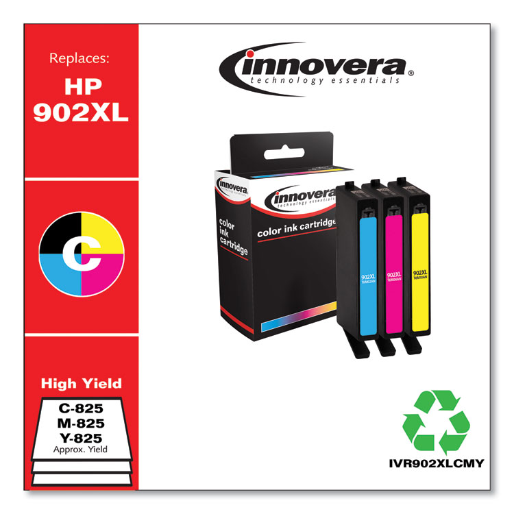 Innovera remanufactured alternative for HP T6M02AN , HP#902XL Cyan Ink Cartridge