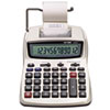 Victor® 1208-2 Two-Color Compact Printing Calculator, Black/Red Print, 2.3 Lines/Sec