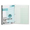 Wilson Jones® Accounting Pad, Four Eight-Unit Columns, Two-sided, Letter, 50-Sheet Pad
