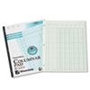 Wilson Jones® Accounting Pad, Six Six-Unit Columns, 8-1/2 x 11, 50-Sheet Pad