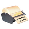 Zip Notes™ Manual Sticky Note Dispenser, 3 x 3, Dark Blue