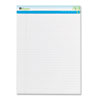 Universal® Sugarcane Sugarcane Based Writing Pads, Wide, 11-3/4 x 8-1/2, White, 2 50-Sheet Pads/Pack