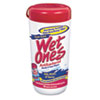 Wet Ones® Antibacterial Moist Towelette, Cloth, 5 3/4 x 7 1/2, White, 40/Dispenser
