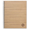 Universal® Sugarcane Sugarcane Based Notebook, College Rule, 11 x 8-1/2, White, 100 Sheets/Pad
