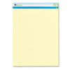 Universal® Sugarcane Sugarcane Based Writing Pads, Wide, 11-3/4 x 8-1/2, Canary, 2 50-Sheet Pads/Pk