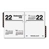 AT-A-GLANCE® Recycled Compact Desk Calendar Refill, 3
