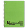 Oxford® Twin Wire Subject Notebook, College/Med Rule, 8-1/2 x 11, WE, 100 Sheets