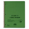 Oxford® Wirelock Subject Notebook, College/Med Rule, 8-1/2 x 11, WE, 100 Sheets