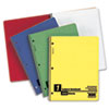 Oxford® Wirelock Subject Notebook, College/Med Rule, Letter, White, 80 Sheets/Pad