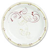 SOLO® Cup Company Symphony Paper Dinnerware, Mediumweight Plate, 8 1/2