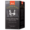 Melitta® Coffee Pods, Love at First Sip (Medium Roast), 18 Pods/Box