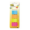 Post-it® Page Markers Page Markers in Dispenser, Four Colors, 4 50-Flag Dispensers/Pack