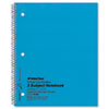 3-Subject Wirebound Notebook, College Rule, Letter, WE, 150 Sheets/Pad