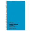 National Brand 3-Subject Wirebound Notebook, College Rule, 6 x 9-1/2, WE, 150 Sheets/Pad