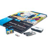 Quartet® Kapture Digital Flipchart Office Kit, 2 Pens, 2 Flipcharts, USB Receiver