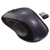 Logitech® M510 Wireless Mouse, 2.4 GHz Frequency/30 ft Wireless Range, Right Hand Use, Dark Gray